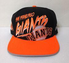b24c1232890d0 new SAN FRANCISCO GIANTS SNAPBACK HAT Retro Big Logo Black NEON ORANGE  men women