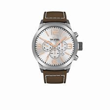 TW Steel Unisex Uhr TWMC11 Marc Coblen MC Edition Chronograph Armbanduhr