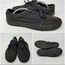 Vans Era Black Bleach Low Skate Tennis Shoes Sneaker Mens Size 12