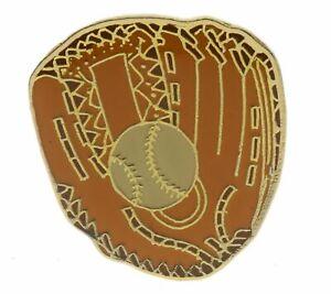 Baseball Glove Mitt Ball Hat Or Lapel Pin  AK370 F4D33J