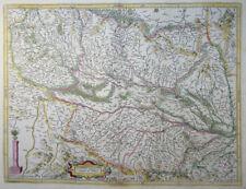 MERCATOR HONDIUS FRANKREICH ALSATIA ELSASS STRASBOURG BASEL BREISGAU 1633