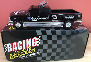 Action Dale Earnhardt #3 Goodwrench Service Truck Dually Bank W/ Key 1:24 Scale