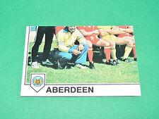 PANINI FOOTBALL EURO FOOTBALL 79 1978-1979 N°211 ABERDEEN PART 3 SCOTLAND