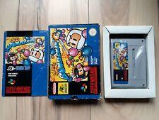 Super Bomberman FAH version Super Nintendo SNES PAL Complete in box (CIB)