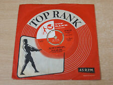 "EX -!!! Billie et Eddie/The King Is Coming Back/1959 Top Rank 7"" Unique"