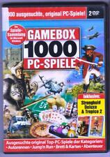 Game Box 1000 PC Spiele Stronghold Tropico Action Abenteuer Simulation Sport PC