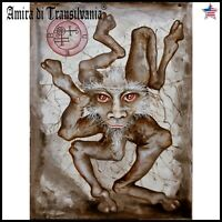 modern contemporary art painting figurative ars goetia lemegeton buer demon seal