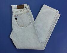 Cerruti 1881 brothers jeans w32 tg 46 uomo vintage azzurri boyfriend slim T2008