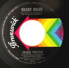 "JACKIE WILSON - Silent Night  7"" single VERY RARE Brunswick USA 1963"