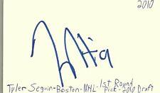 Tyler Seguin Boston Nhl Hockey Autographed Signed Index Card Jsa Coa