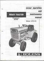 Bolens Iseki G152 G154 G172 G174 & H1502 Hydro TRACTOR