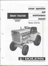 bolens heavy equipment manuals & books for bolens tractor  bolens 1253 wiring diagram #15