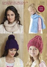 f118167dd7d Knitting Super Chunky Hats Patterns for sale