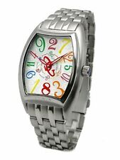 Cog Watch Jumping Hour Automatic Mens JH4M-WHC Free Ship w/Tracking# New Japan