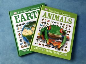 Earth And Animals Educational Fact Books Non-Fiction Kids Books 2 Book Bundle