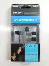 NEW SEALED Sennheiser CX 200 Street II Headphones - BLACK Ear Phones MP3