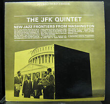 The JFK Quintet New Jazz Frontiers From Washington‎ LP VG+ 1961 RLP 9396 DG