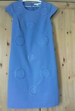Boden Blue Embroidered Dress.New. Size 8L