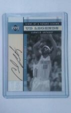 Upper Deck Legends Carmelo Anthony Rookie Auto