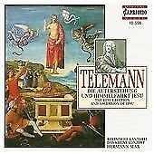Telemann: The Resurrection and Ascension of Jesus, , Audio CD, New, FREE & FAST