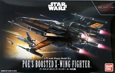 POE's BOOSTED X-WING FIGHTER MODELLO KIT 1/72 di Bandai, Star Wars Episode 8