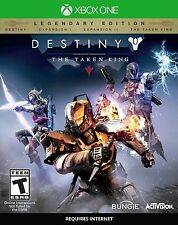 NEUF Destiny The TAKEN KING LEGENDARY édition (Microsoft Xbox One, 2015)