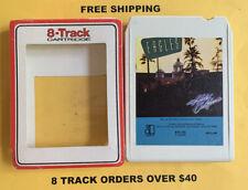 Eagles Hotel California 8 track tape tested W/ Sleeve