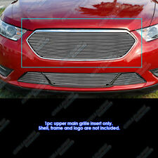 Fits 2013-2018 Ford Taurus SHO Logo Cover Billet Grille Insert