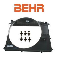 BMW E38 E39 540i 740i Cooling Fan Shroud + Set of 6 Fan Shroud Clips Behr OEM