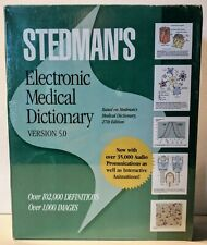 Stedman's Electronic Medical Dictionary v5.0 NEW/SEALED