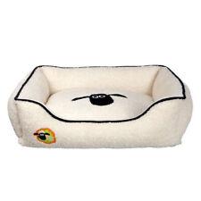 Katzen Bett 65 x 50 cm Hundebett Katzenkorb weich süß Decke Nest Korb Katzenbett