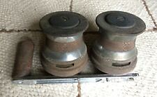 Two Tuphfittings Winches with Handle - Chrom 00006000 ed Bronze & Tufnol