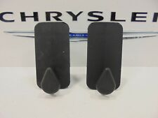 00-09 Chrysler Dodge Jeep Ram New Floor Mat Retainer Clip Black Mopar Set of 2