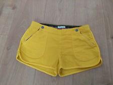 Stella McCartney Girls Age 14 Yellow Shorts.