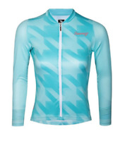 2019 Suarez Women's Quiver Long Sleeve Cycling Jersey in Blue