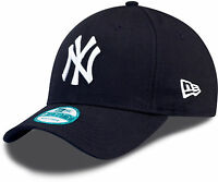 New Era 9FORTY MLB New York Yankees The League Navy Curved Peak Hat Baseball Cap