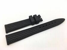 Brand New Chopard Black Rubber Band Strap
