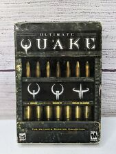 Ultimate Quake (PC CD-ROM, 2006) with Box