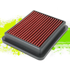 Washable/Reusable High Flow Drop-In Air Filter Red for Honda Accord 1.5L 18-20