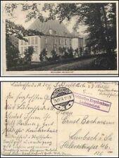 1914 Stempel Städtisches Krankenhaus auf Feldpost-AK Schloss Neuenhof alte AK