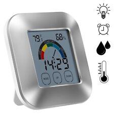Sans Fil Station Météo Thermomètre Intérieur Extérieur Température Humidité °C