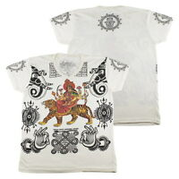 WORK meenakshi deity uma kali parvati hindu goddess mantra #WK127 T-Shirt M L XL
