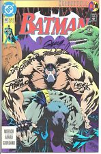"""One (1) Signed Copy of 'Batman' – """"The Breaking of the Batman"""" Comic Book."""