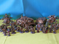 warhammer 40k space marines - dark angels army many units to choose from