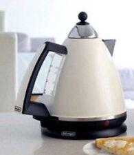 Delonghi KBE3014-2 Argento 1.7 Litres 3kW Rapid Boil Jug Kettle in Cream