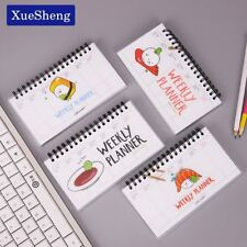 XUES® Cute Kawaii Cartoon Weekly Planner Coil Notebook Agenda Filofax