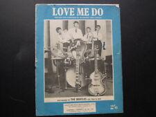 BEATLES ' LOVE ME DO ' UK SHEET MUSIC 1962