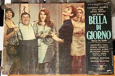 fotobusta originale BELLE DE JOUR Catherine Deneuve Luis Bunuel 1967 #2