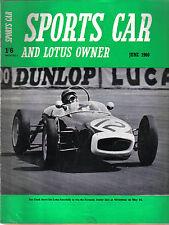 Sports CAR + LOTUS proprietario 6/60 CONRERO LOTUS SILVERSTONE F1 LOTUS ELITE MINI +