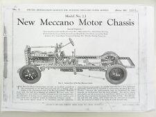 Meccano Supermodel Instruction Leaflets Full Set copy
